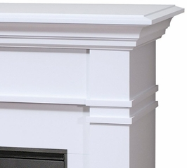Kenton Electric Fireplace in White - Dimplex - SMP-130-W-ST