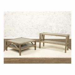 Ketley Square Cocktail and Sofa Table Set - Largo - LARGO-ST-T541-113-130-SET