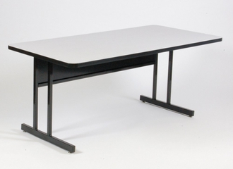 "Keyboard Height Computer Table 24"" x 48"" - Correll Office Furniture - CS2448"