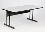 "Keyboard Height Computer Table 30"" x 72"" - Correll Office Furniture - CS3072"