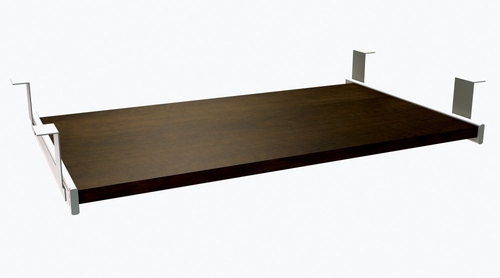 Keyboard Shelf in Chocolate - Prestige Plus - Bestar Office Furniture - 99830-69