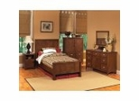 Kids Bedroom Furniture Collection in Cherry - Crosstimbers