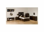 Kids Bedroom Furniture Collection in Espresso - Fremont - Prepac Furniture