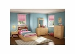 Kids Bedroom Furniture Collection in Natural Maple - South Shore Furniture