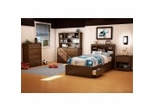 Kids Bedroom Furniture Collection in Sumptuous Cherry - Willow - South Shore Furniture