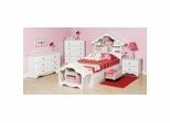 Kids Bedroom Furniture Collection in White - Monterey Collection - Prepac Furniture