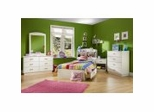 Kids Bedroom Furniture Collection Pure White - South Shore Furniture