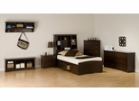 Kids Bedroom Furniture Set 1 in Espresso - Fremont - Prepac Furniture - FRE-KBSET-1