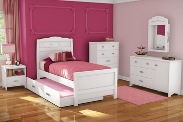 Kids Bedroom Furniture Set 1 - Tiara - South Shore Furniture - 3650-BSET-1
