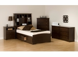 Kids Bedroom Furniture Set 2 in Espresso - Fremont - Prepac Furniture - FRE-KBSET-2