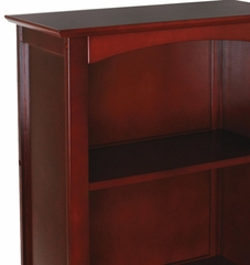 Kids Bookcase - Avalon Tall Bookshelf in Cherry - KidKraft Furniture - 14031