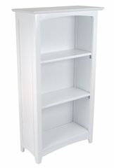 Kids Bookcase - Avalon Tall Bookshelf in White - KidKraft Furniture - 14001