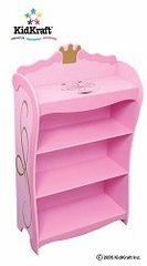 Kids Bookcase - Princess Toddler Bookcase - KidKraft Furniture - 76126