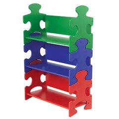 Kids Bookcase - Puzzle Bookshelf - KidKraft Furniture - 14400