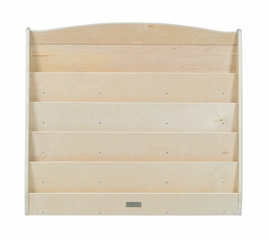 Kids Bookshelf - Double Sided Bookshelf in Natural - Guidecraft - G6465