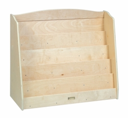 Kids Bookshelf - Single Sided Bookshelf in Natural - Guidecraft - G6460