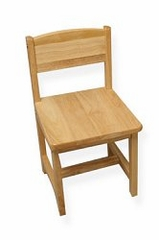 Kids Chair and Seating - Aspen Chair in Natural - KidKraft Furniture - 16118