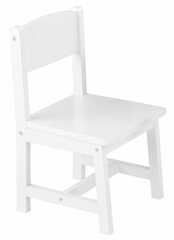 Kids Chair and Seating - Aspen Chair in White - KidKraft Furniture - 16117