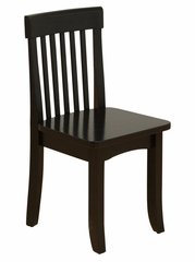 Kids Chair and Seating - Avalon Chair in Black - KidKraft Furniture - 16612