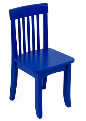 Kids Chair and Seating - Avalon Chair in Blue - KidKraft Furniture - 16603