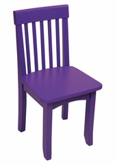 Kids Chair and Seating - Avalon Chair in Grape - KidKraft Furniture - 16617