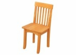 Kids Chair and Seating - Avalon Chair in Honey - KidKraft Furniture - 16641