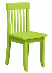 Kids Chair and Seating - Avalon Chair in Key Lime - KidKraft Furniture - 16613