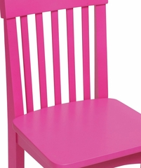 Kids Chair and Seating - Avalon Chair in Raspberry - KidKraft Furniture - 16616