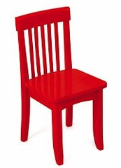 Kids Chair and Seating - Avalon Chair in Red - KidKraft Furniture - 16602