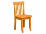 Kids Chair and Seating - Avalon Chair in Tangerine - KidKraft Furniture - 16614