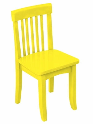 Kids Chair and Seating - Avalon Chair in Yellow - KidKraft Furniture - 16609