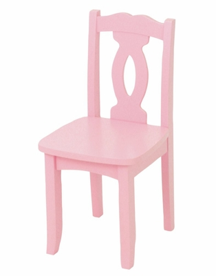 Kids Chair and Seating - Brighton Chair in Pink - KidKraft Furniture - 16704