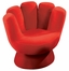 Kids Chair and Seating - Mini Mitt Chair in Red - LumiSource - CHR-MITTMINI-R