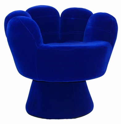 Kids Chair and Seating - Mitt Chair Regular in Blue - LumiSource - CHR-MITT3529-BU