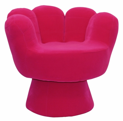 Kids Chair and Seating - Mitt Chair Regular in Hot Pink - LumiSource - CHR-MITT3529-HP