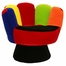 Kids Chair and Seating - Mitt Chair Regular in Multicolor - LumiSource - CHR-MITT3529-V