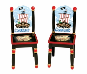 Kids Chair and Seating - Pirate Extra Chairs - Guidecraft - G83703