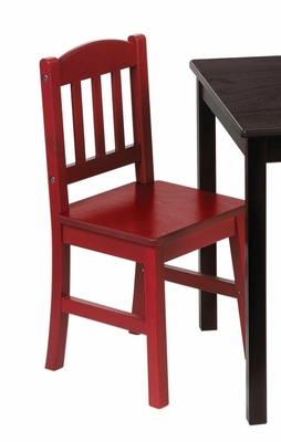 Kids Chair - Discovery Chair (Set of 2) in Red / Blue - Guidecraft - G85903