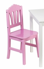 Kids Chair - Harmony Chair (Set of 2) in Yellow / Pink - Guidecraft - G86003