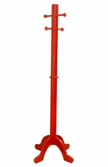 Kids Coat Rack - Clothes Pole in Cranberry - KidKraft Furniture - 19252