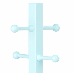 Kids Coat Rack - Clothes Pole in Ice Blue - KidKraft Furniture - 19230