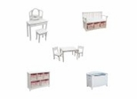 Kids Furniture Collection - Classic White - Guidecraft