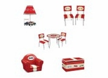 Kids Furniture Collection - Retro Racer - Guidecraft