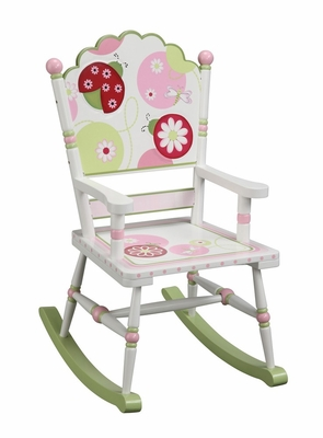 Kids Rocking Chair - Sweetie Pie Rocking Chair in Multi - Guidecraft - G86108