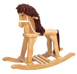 Kids Rocking Horse - Derby Rocking Horse in Natural - KidKraft Furniture - 19621