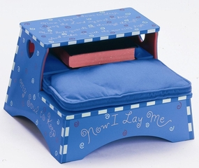 Kids Step Stool - Boy Prayer Stool - OSS30010