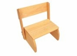 Kids Step Stool - Flip Stool in Natural - KidKraft Furniture - 15321