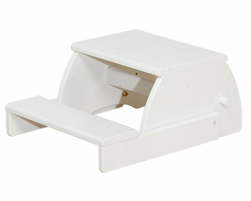 Kids Step Stool - Flip Stool in White - KidKraft Furniture - 15301