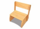 Kids Step Stool - Large Flip Stool in Natural - KidKraft Furniture - 15821