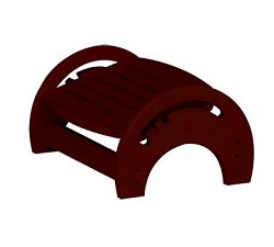 Kids Step Stool - Nursing Stool in Cherry - KidKraft Furniture - 15131